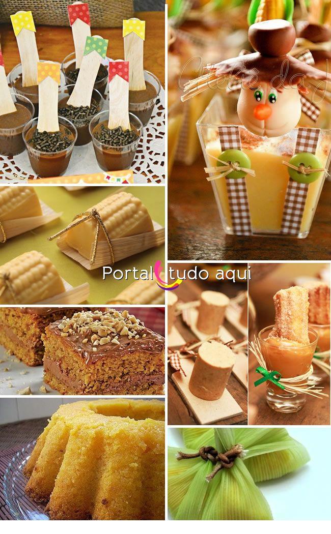 Cardápio para festa junina infantil. Sugestões de doces deliciosos!