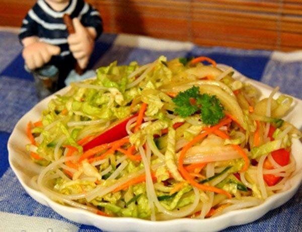 салат с курицей и фасолью с фото