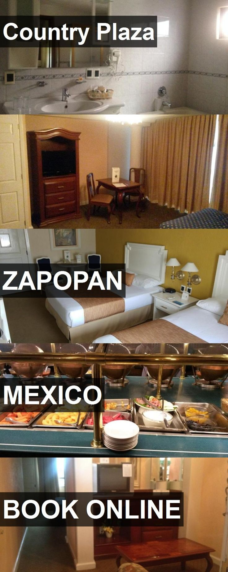 Hotel Country Plaza in Zapopan, Mexico. For more information, photos, reviews and best prices please follow the link. #Mexico #Zapopan #travel #vacation #hotel