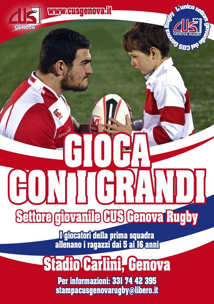 CUS Genova Rugby, Advertising, Genoa