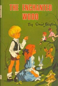 The Enchanted Wood.  Enid Blyton  A book I loved as a child, and still have in my collection...  I always read the author as 'Gnid' though, and was surprised as a teen to learn that was a letter E!