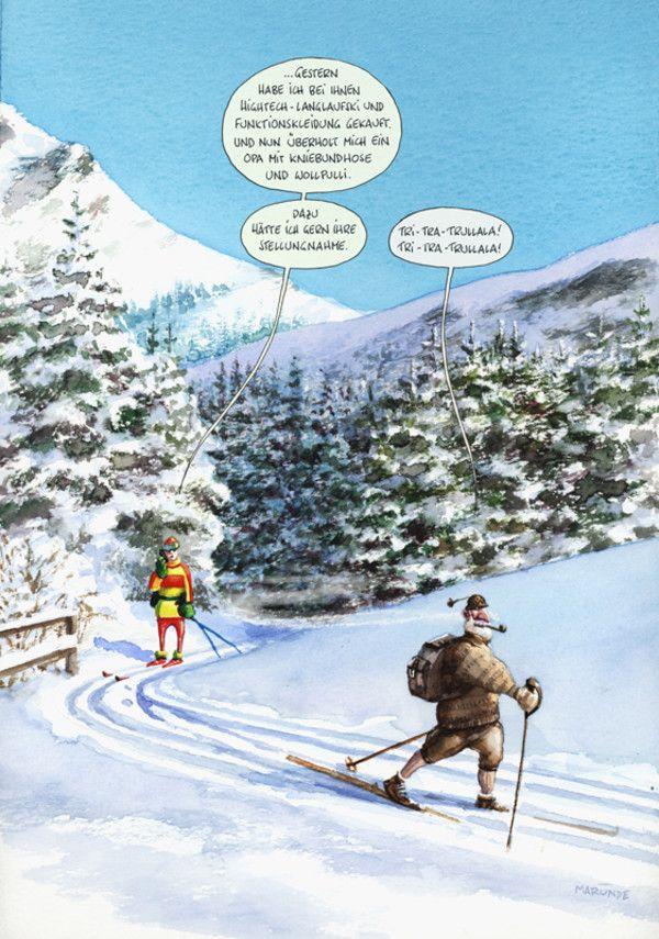 Kniebundhose-Detail-MARUNDE | Cartoons & Illustrationen von Wolf-Rüdiger Marunde