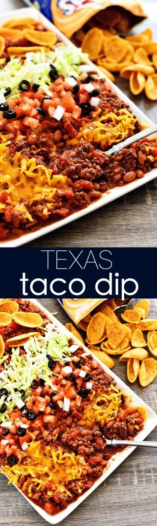 Texas Taco Dip - Life In The Lofthouse