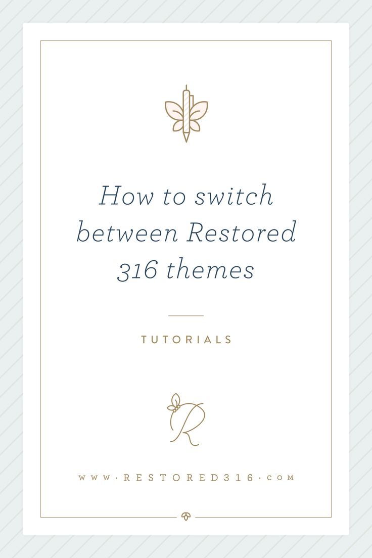 Learn how to switch WordPress themes
