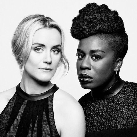 """For her next feat, watch Uzo completely flip the script and rock a textured pompadour.   Uzo Aduba's Red Carpet Game Is """"Crazy"""" Beautiful"""