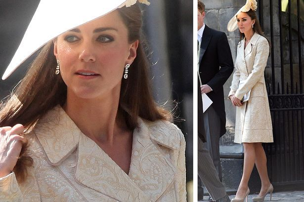 Wedding outfit: How Kate wore the dress for Zara and Mike's big day