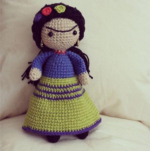 Frida amigurumi