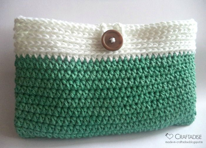 Crochet Cosmetic Bag Pattern : ... Makeup Bag Pattern on Pinterest Bag Patterns, Diy Makeup Bag and