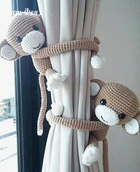 Accroche-rideau ( à faire en tissu)