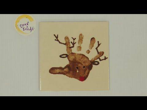Crock A Doodle Pottery Painting Techniques Reindeer Hand Prints - YouTube www.crockadoodle.com