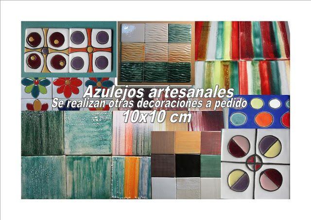 Azulejos con Arte:  AZULEJOS ARTESANALES  CERÁMICA ARTESANAL 10X10 CM...