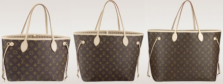 Size Comparison of the Louis Vuitton Neverfull Bags | Small (PM), Medium (MM), Large (GM)
