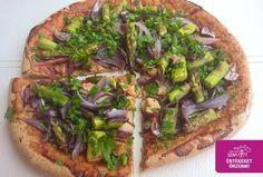Tojásmentes paleo pizzatészta (gluténmentes, tejmentes, élesztőmentes, vegán)