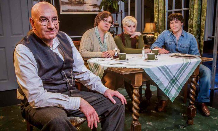 Simon Day as Alf Garnett, Lizzie Roper as Else, Sydney Rae White as Rita and…