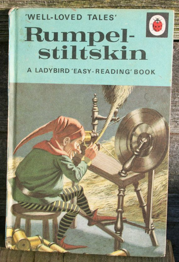 Vintage Ladybird Book of Rumpel-Stiltskin - 1968 - Well Loved Tales Series via Etsy