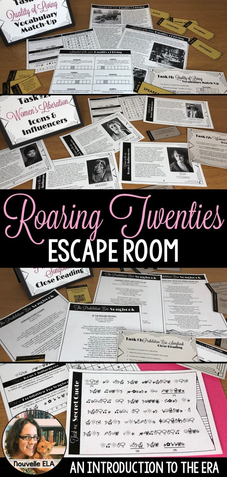 The Great Gatsby Escape Room