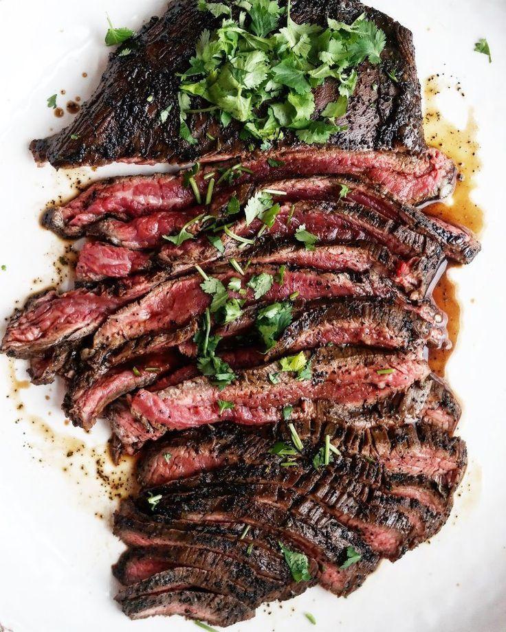 Asian Flank Steak - tons of flavor for an easy dinner!