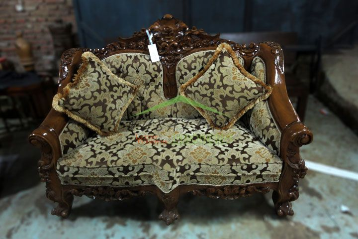 Candra Carved Baroque Sofa | Luxury Furniture From Indonesia