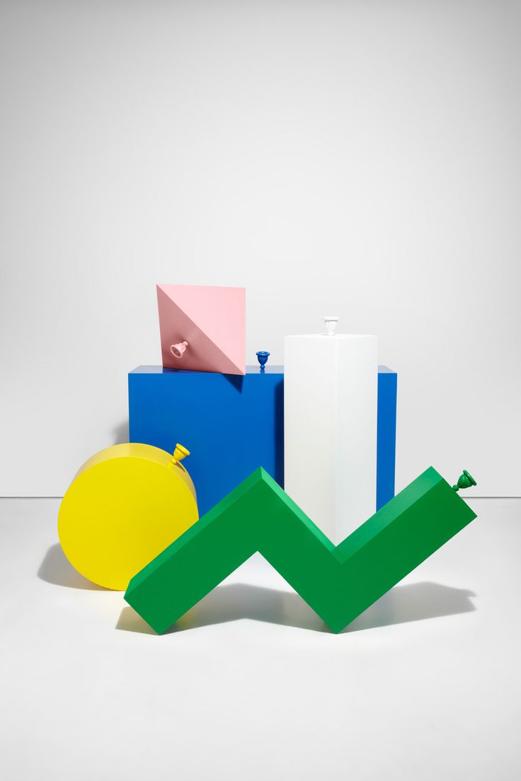 Balloon Geometry by Catherien Losing & Gemma Tickle | Stories on Design // Modern Memphis Movement.