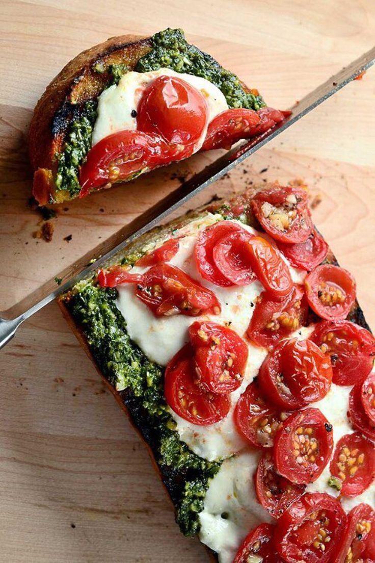 Представяме ви много бърза и лесна рецепта, когато разполагате с малко време, а ви се хапва нещо вкусно с италиански вкус.