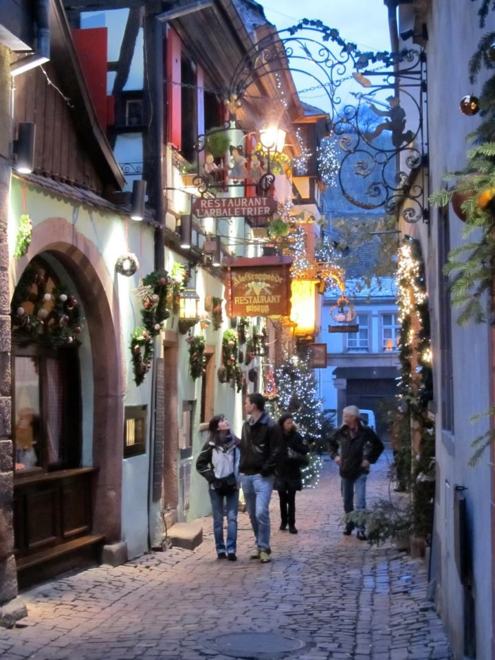 Quebec City - it's been too long since I walked this street. <3