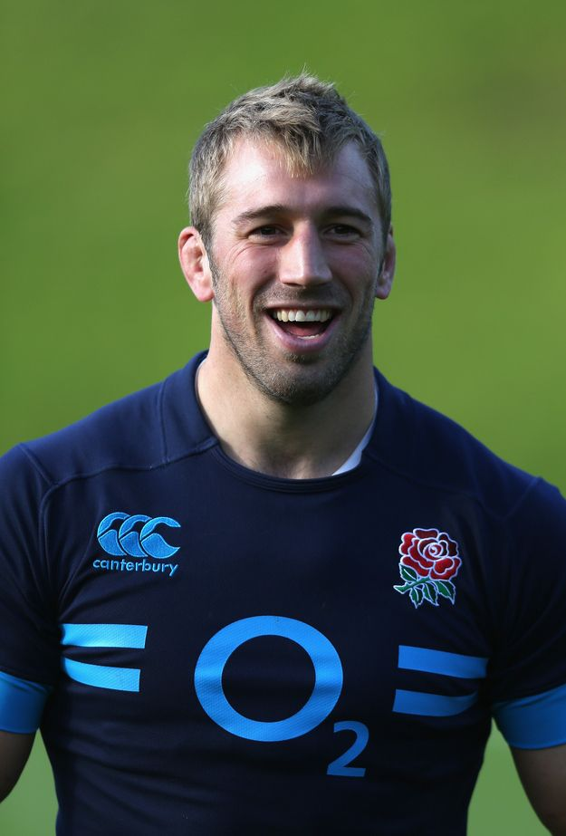 Another brilliant Chris Robshaw trait is his laugh. | Why Chris Robshaw Is The Ryan Gosling Of Rugby
