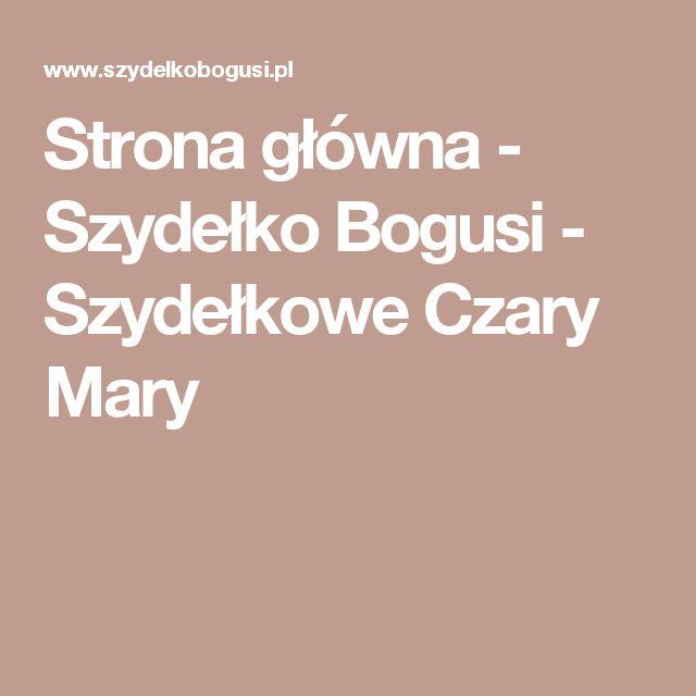 Strona główna - Szydełko Bogusi - Szydełkowe Czary Mary