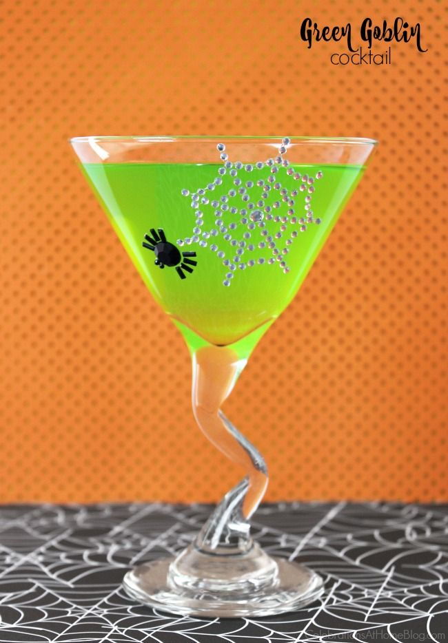 "Make this Green Melon Punch Recipe for your Halloween party and call it a ""Green Goblin."" It's delicious and serves a crowd!"