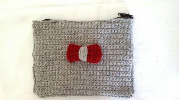 Handmade crochet  purse /wallet / free by KaterinakiJewelry