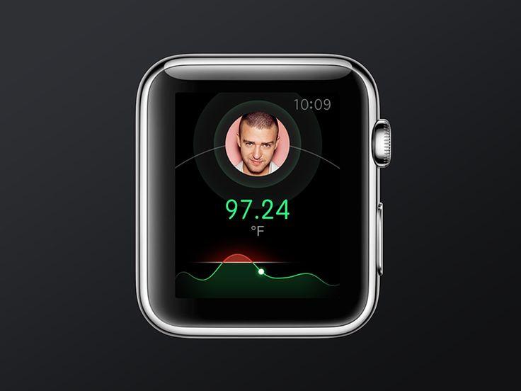 Temperature App for Apple Watch