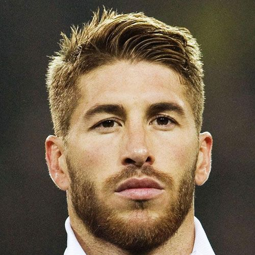 Soccer Player Haircuts - Sergio Ramos