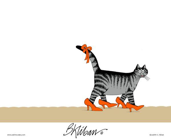 Kliban's Cats Comic Strip on GoComics.com