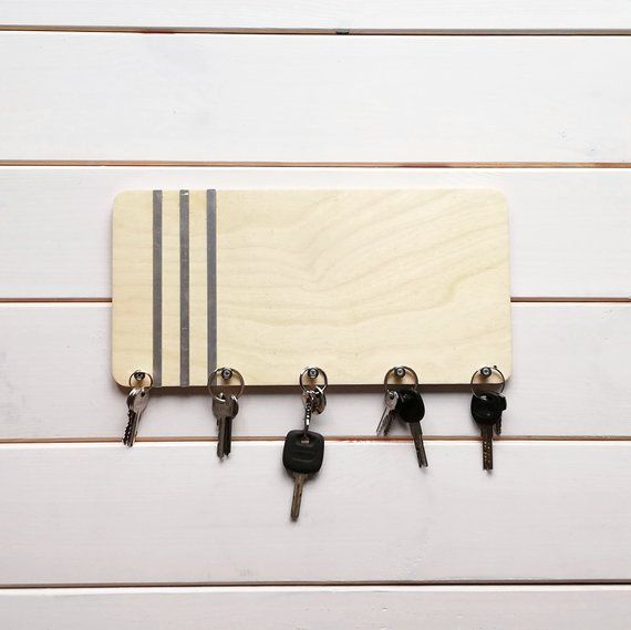 Holder For Wall Rack Key Holder Wood Key Organizer Box Holder