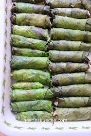 Mangold Roulade mit vegetarische Füllung, Lorlu Pazi Sarmasi