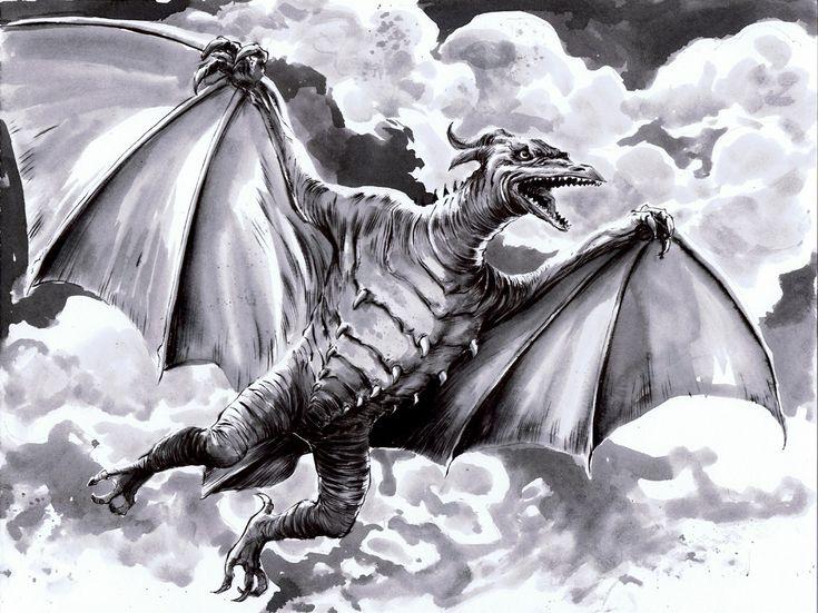 Dibujos Godzilla Raids Again 1955 Para Colorear: 76 Mejores Imágenes De Godzilla En Pinterest