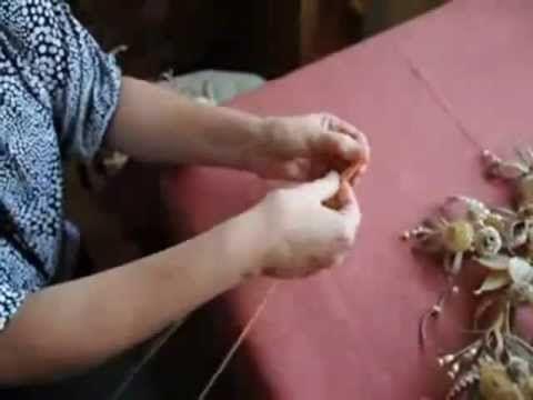 Плетение из соломы Розочка.mp4