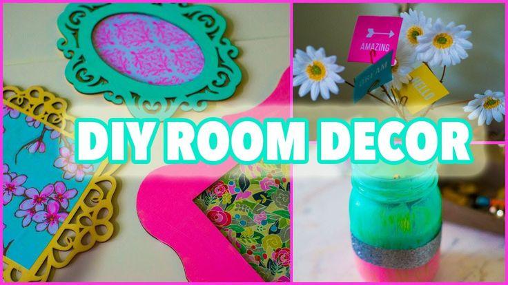 DIY ROOM DECOR | For Spring, Tumblr Inspired - Lindsay Marie