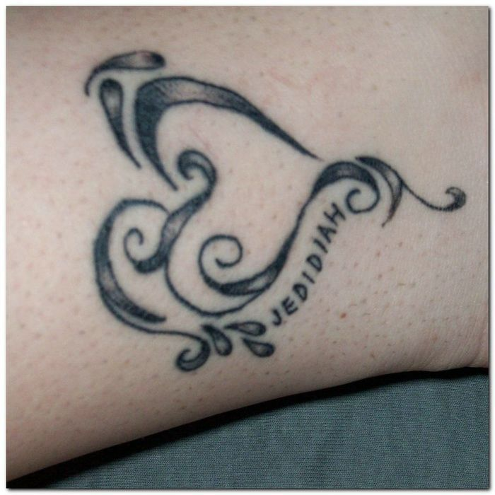 17 Best Ideas About Heart Name Tattoos On Pinterest