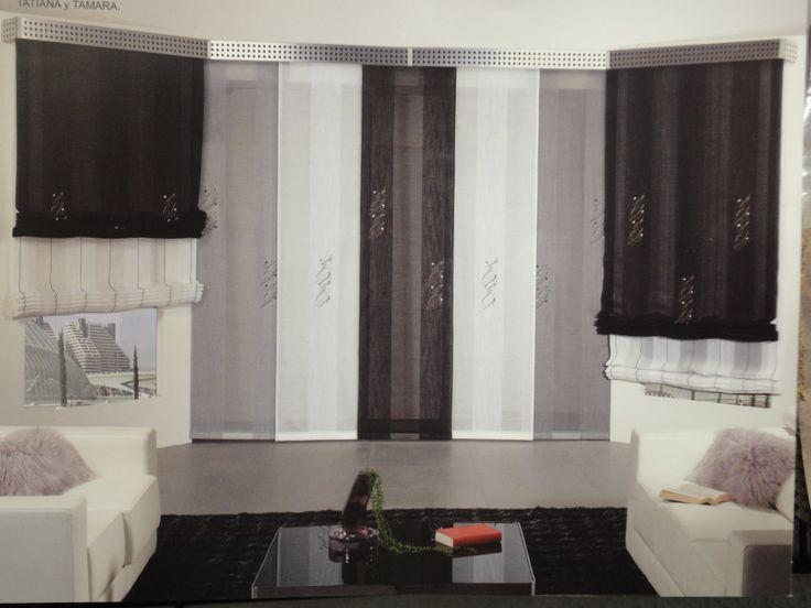 M s de 1000 ideas sobre paneles japoneses en pinterest - Estor para ducha ...