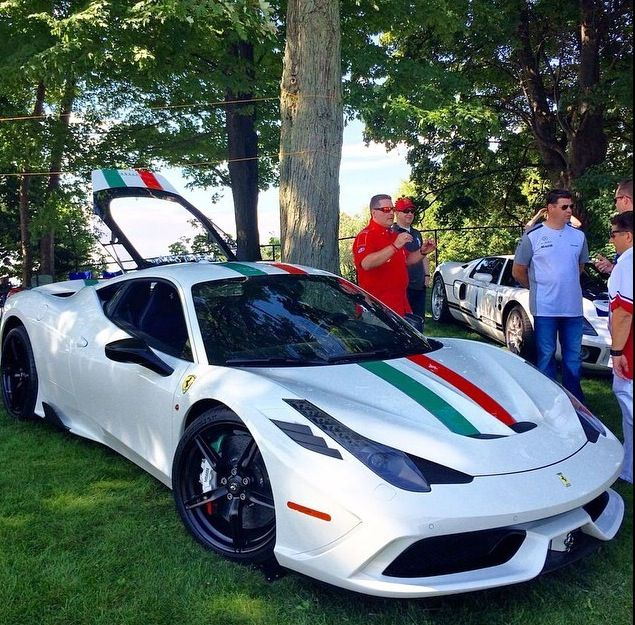 The Best Color Of 458 Speciale