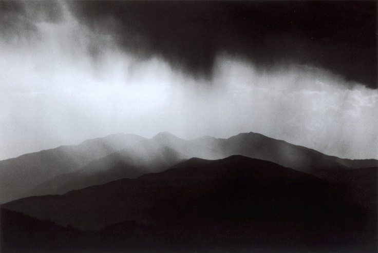 1989. Ferrante Ferranti - Canigou view from Albères, Oriental Pyrenees, France