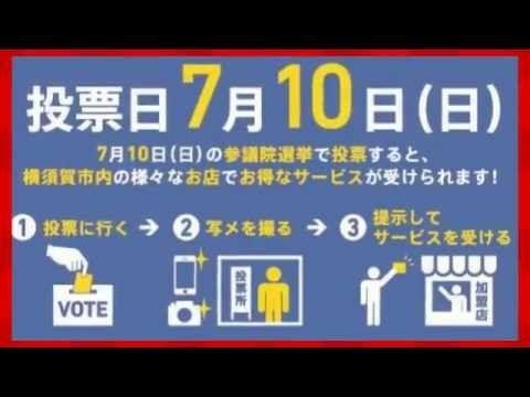 Go Vote YOKOSUKA! ヨコスカ選挙割 http://govote-yokosuka.seesaa.net/