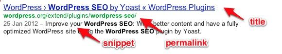 WordPress SEO (search engine optimization) This is a GREAT plugin to help boost your SEO with WordPress.