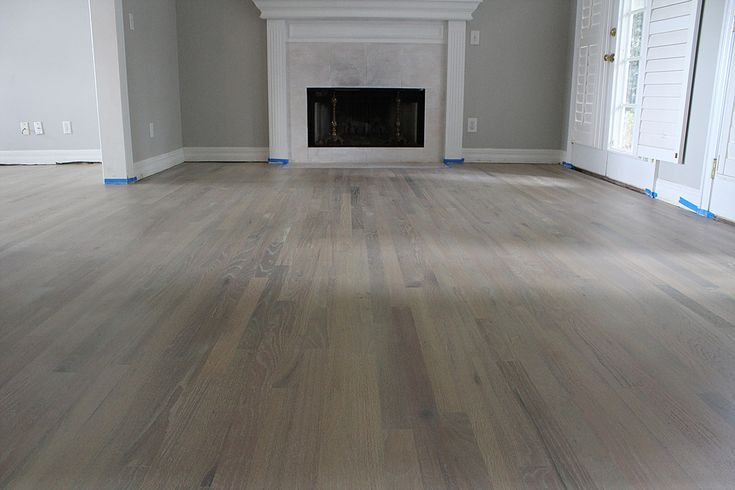 Hardwood Floor Resurfacing Red Oak Finished Smoked And