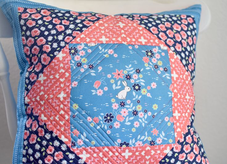 Quilted Pillowcase Patterns Free: 144 best Quilted Pillows images on Pinterest   Cushions  Pillow    ,