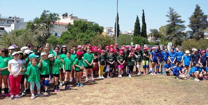 2o Park Volley ΓΣΧαλανδρίου με επιτυχία!    Πραγματοποιήθηκε την Κυριακή 17 Μαϊου, το 2ο Park Volley    ΓΣ Χαλανδρίου, στο Πάρκο της Αττικής Οδού στο Χαλάνδρι.    Περισσότερα από 150 παιδιά δημοτικού μέχρι και Α΄ γυμνασίου