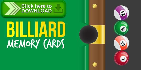 [ThemeForest]Free nulled download Billiard Memory Cards Game from http://zippyfile.download/f.php?id=39147 Tags: ecommerce, android game, billiard game, browser game, cards memory, html5 game, iOS GAME, memory game, mobile game, pool game, Responsive Game, snooker game, web game, website game