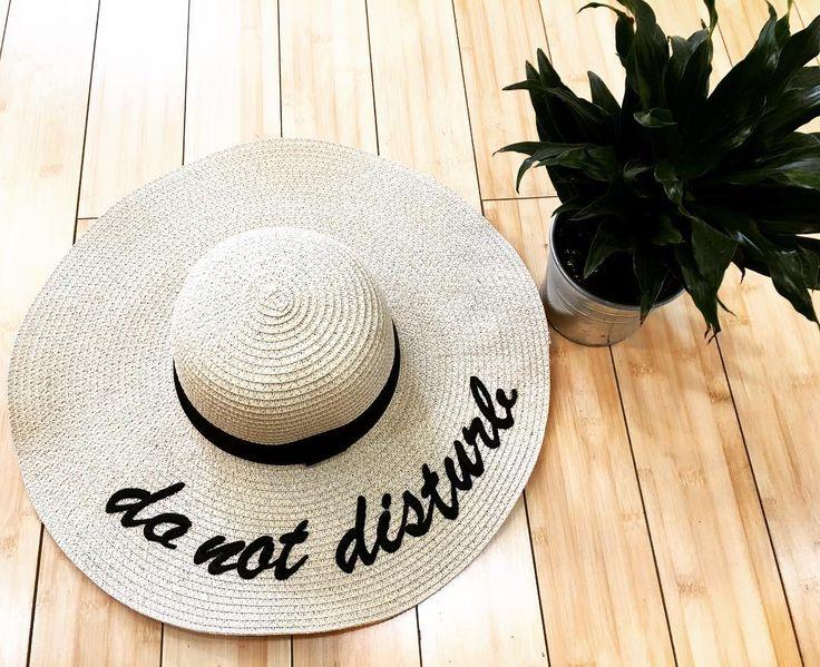 """50 Likes, 3 Comments - April Snow Boutique (@aprilsnowboutique) on Instagram: """"SCRAM! [unless you have a yummy beverage] 😘🙌 . . . #sunhat #donotdisturb #floppyhat #pool #beach…"""""""