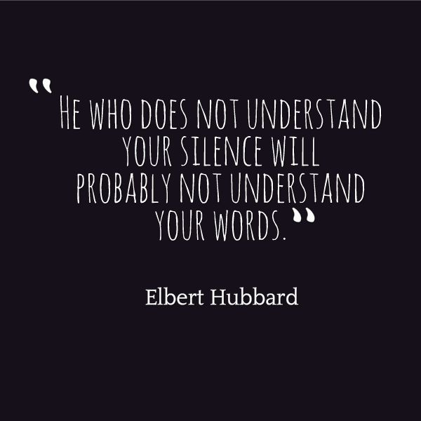 1000+ Silence Quotes On Pinterest