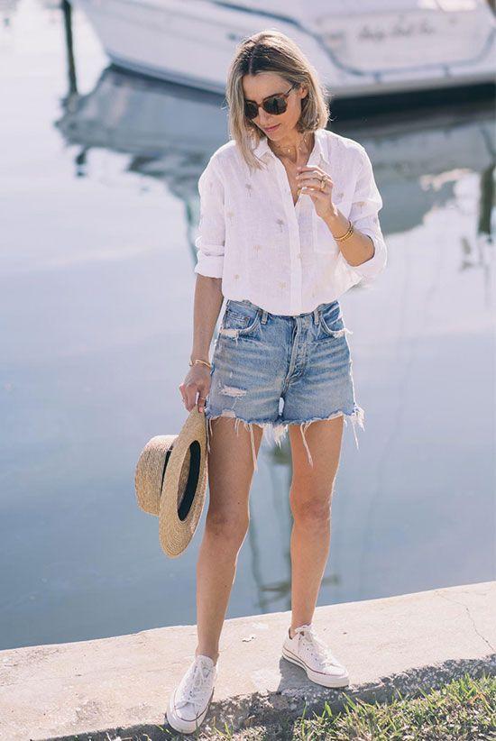O uniforme de verão favorito de um blogueiro (e o nosso também)   – Women's Fashion